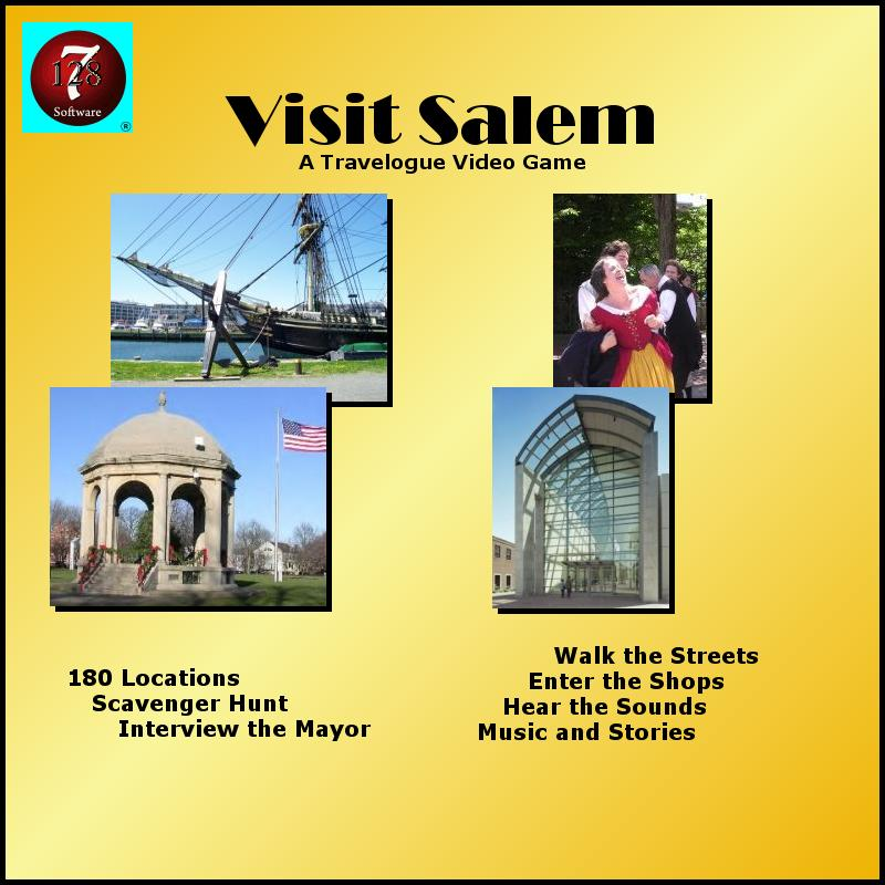 The cover of the Visit Salem CD
